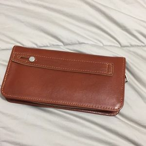 100% Buffalo leather wallet brand new